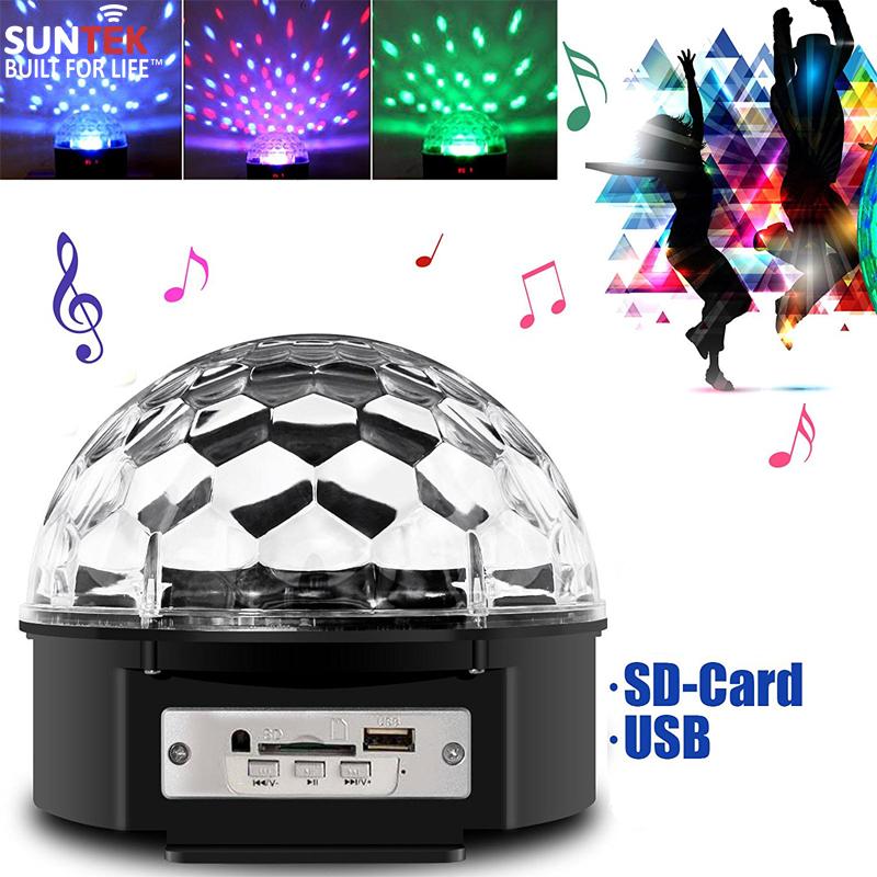 125k - Loa nghe nhạc usb thẻ nhớ quả cầu đèn vũ trường có remote giá sỉ và lẻ rẻ nhất